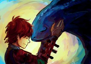hiccup_and_toothless_by_mastry01-d7m1z2v