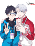 yuri_and_viktor_render__yuri_on_ice__by_zero961221-dam4acn